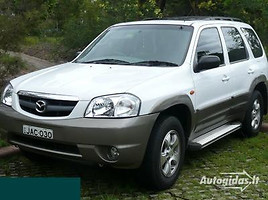 mazda tribute Visureigis 2001