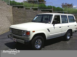 toyota land cruiser Visureigis 1986