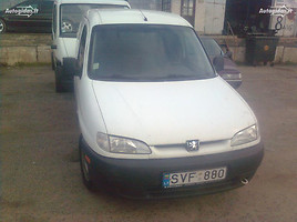 Peugeot Partner I  Commercial auto (with box)