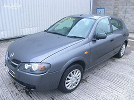 Nissan Almera N16 Europa 1,5 benzinas 2004 m. dalys