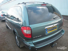 Chrysler Grand Voyager III CRD 2002 m. dalys