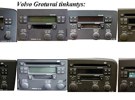 CD changer VOLVO MP3 Priedėlis