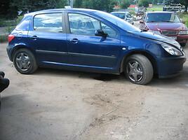 Peugeot 307 I 2003 m. dalys