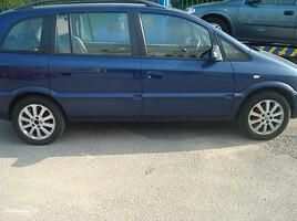 Opel Zafira A 2004 m. dalys