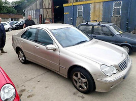 mercedes-benz c 220 w203 Sedanas 2002