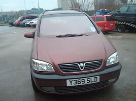 Opel Zafira A 2002 m. dalys