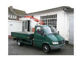 410 408 409 412 Kranas, Van, truck up to 7.5t.  Mercedes-Benz 410 407 408 409 412  1995 y parts