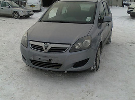 Opel Zafira B 2009 m. dalys