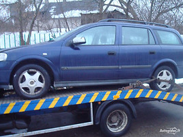 Opel Astra II 2001 m. dalys