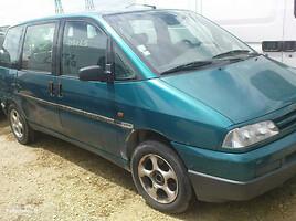 Peugeot 806 1997 m. dalys
