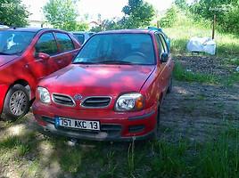 Nissan Micra K11, 2001m.