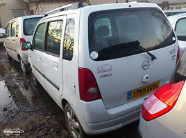 Opel Agila A 2004 m. dalys