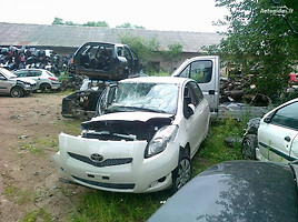 Toyota Yaris II 2009 m. dalys