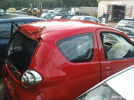 Toyota Aygo I 2008 m. dalys