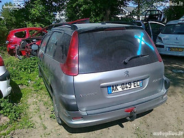 Peugeot 206 2002 m. dalys