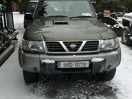 Nissan Patrol GR II Y61 2001 m. dalys