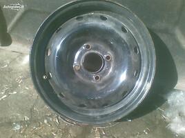 Citroen Berlingo R14 plieniniai štampuoti ratlankiai