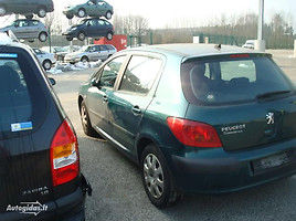 Peugeot 307 I 1.4 1.6 16V 2004 m. dalys