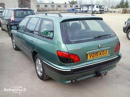 Peugeot 406 2001 m. dalys