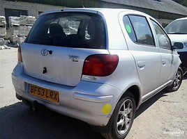 Toyota Yaris I 2002 m. dalys