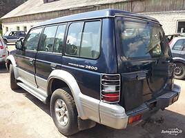Mitsubishi Pajero II 1998 m. dalys