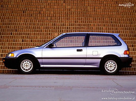 Honda Civic IV, 1988m.