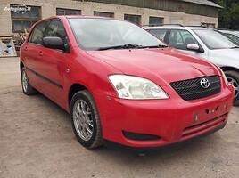 Toyota Corolla SERIA E12 2002 m. dalys