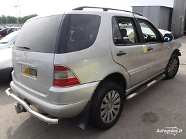 mercedes-benz ml 320 w163 Visureigis 2000