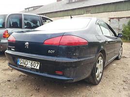 Peugeot 607 2004 m. dalys
