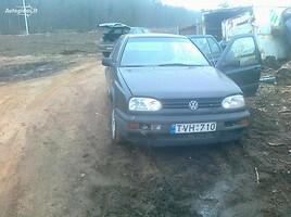 Volkswagen Golf III 1993 m. dalys