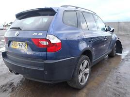 BMW X3 E83  Visureigis