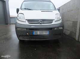 Opel Vivaro Krovininis mikroautobusas 2003
