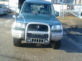 Hyundai Galloper Visureigis 1999