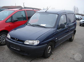 peugeot partner i Dyzelis Benzinas Universalas 1997
