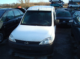 Opel Combo C europa iš vokietijos Commercial auto (with box)