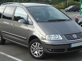 Volkswagen Sharan I 4-MOTION Keturi varo, 2003m.