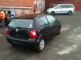 Volkswagen Polo IV IV 2003 m. dalys