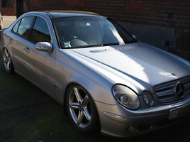Mercedes-Benz E 500 W211  Sedanas