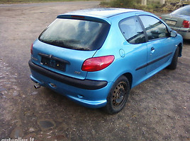 Peugeot 206 2001 m. dalys