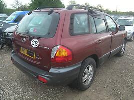 Hyundai Santa Fe 2003 m. dalys