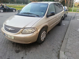 Chrysler Town & Country II Limited, 2002г.