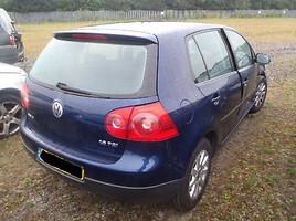 Volkswagen Golf V 2007 m. dalys