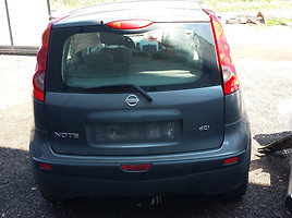 Nissan Note, 2007m.