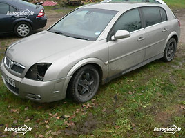 opel signum Hečbekas 2004