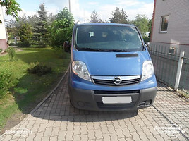 Opel Vivaro 2003 m. dalys