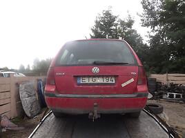 Volkswagen Golf IV 4motion TDI 1999 m. dalys