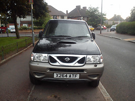 Nissan Terrano 2001 m. dalys