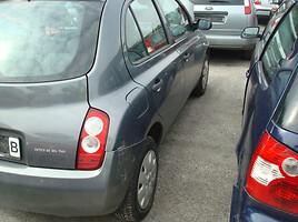 Nissan Micra K12 Europa 2004 m. dalys