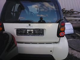 Smart Fortwo 1999 y. parts