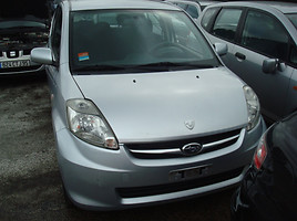 subaru justy engine 1KR Hečbekas 2008